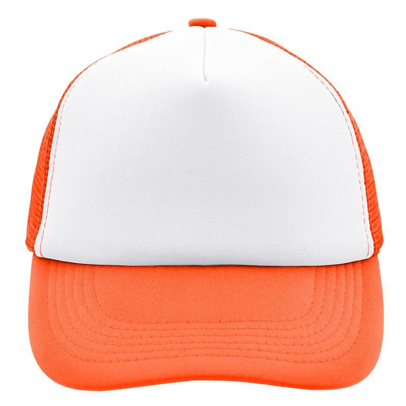 blanc/orange fluo