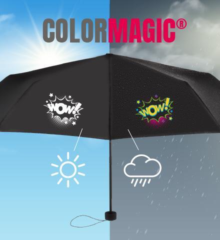 Les impressions magiques sur parapluie