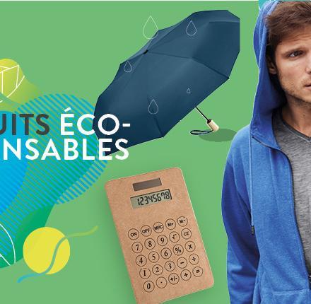 Les produits éco-responsables