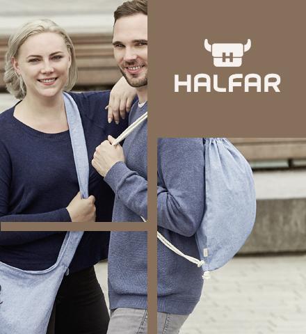 Halfar : l'histoire de leurs sacs en coton pré-recyclé