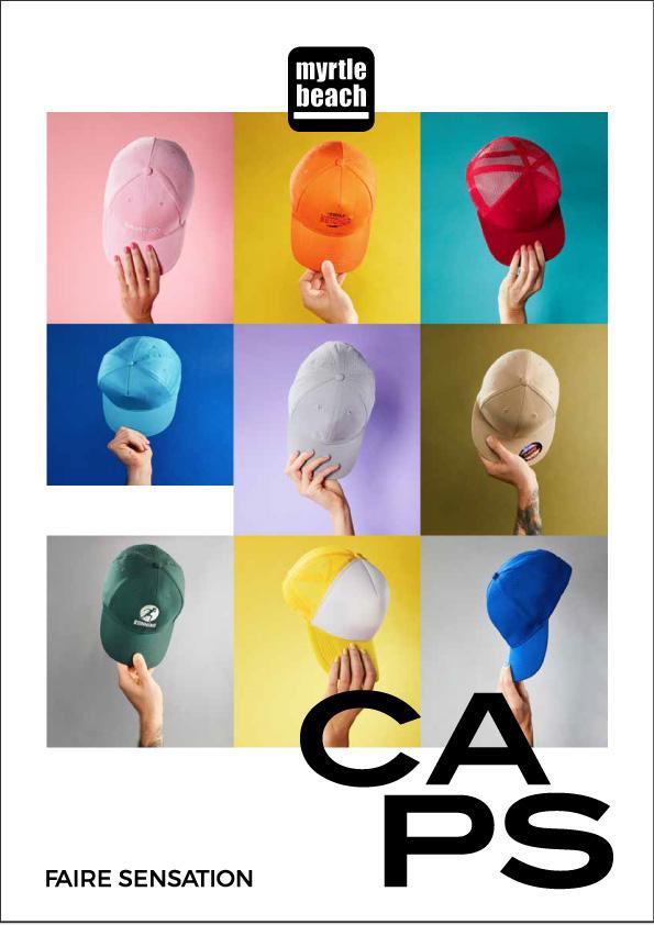 Catalogue Casquettes Myrtle Beach 2021